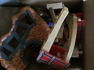 Wooden train extra pieces