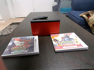 Nintendo 3DS XL + 2 games + memory