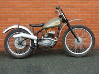 BSA Bantam D1 175cc 1949 Competition Rigid Trials