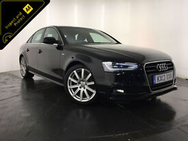 2013 AUDI A4 S LINE TDI 141 BHP 1 OWNER AUDI SERVICE HISTORY FINANCE PX WELCOME