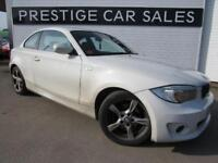 2013 BMW 1 Series 2.0 118d Exclusive Edition 2dr Diesel white Manual