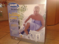 New  shower/bath chair