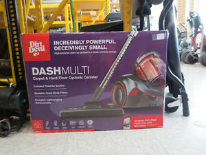 Dirt Devil DASH Multi Carpet & Hard Floor Cyclonic Canister Vacu