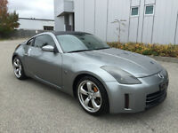 2006 NISSAN 350Z GRAY ON BLACK 6SPEED