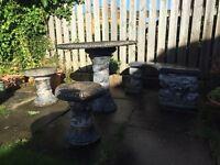 Vintage Stone Garden Furniture