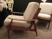 Spectacular Mid Century Modern Lounge Chairs $480 EACH