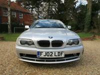 2002 02 BMW 325i SE AUTOMATIC E46 COUPE FSH 192 BHP 6 CYLINDER LEATHER XENONS