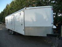 2008 CJay Enclosed Snowmobile Trailer