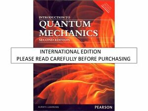 Introduction to quantum mechanics griffiths ebay introduction to quantum mechanics by david j griffiths fandeluxe Images