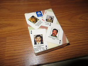 Iraqui Most wanted Playing Cards, unopened.