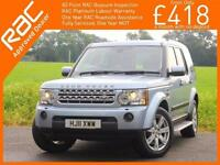2011 Land Rover DISCOVERY 4 3.0 SDV6 Turbo Diesel 245 BHP XS 7-Seater Auto Sat N