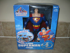 Flying Superman Justice League Toy