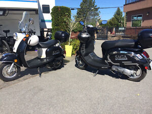 TWO AWESOME SCOOTERS FOR $2,500 HIS & HER'S!