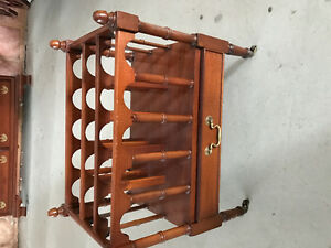 Antique magazine holder