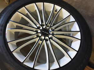 """18"""" RTX rims and General G-Max tires"""