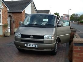 VW T4 caravelle Syncro camper conversion