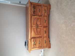 Dresser and armoire solid pine