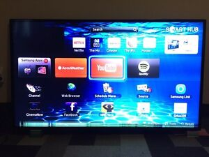 55 inch Samsung smart 3D tv for parts.
