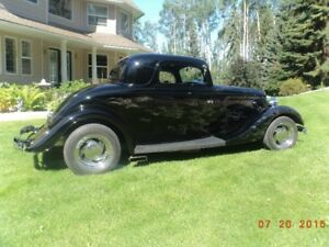 SPECIAL FALL PRICE on this 1934 Ford 3 Window Coupe