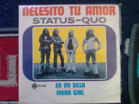 """Status quo 7"""" single"""