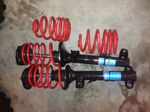 "BMW E36 1992/99  any model front strut lowering 2"" spring kit M3"