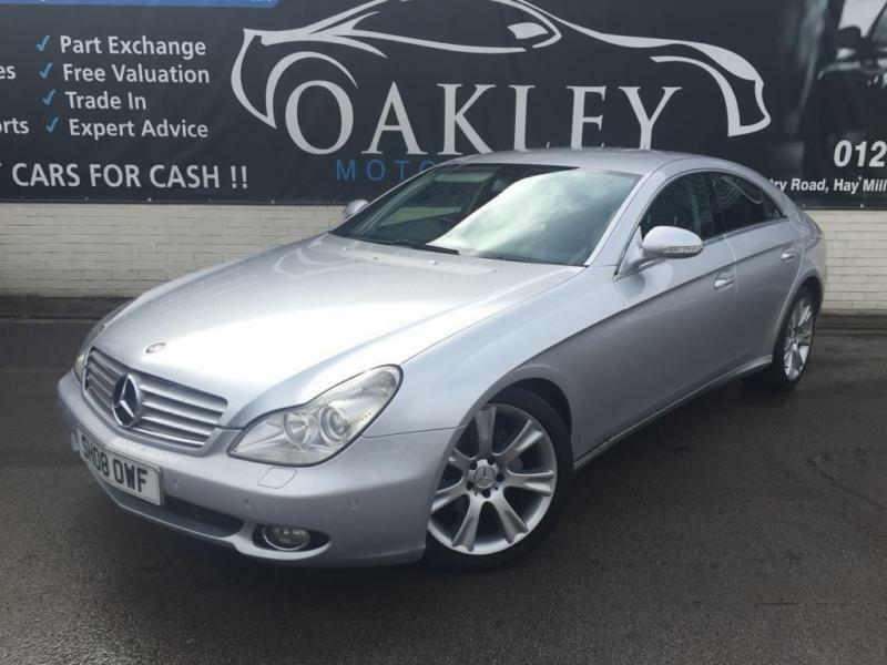 2008 mercedes benz cls 3 0 cls320 cdi 7g tronic 4dr in yardley west midlands gumtree. Black Bedroom Furniture Sets. Home Design Ideas