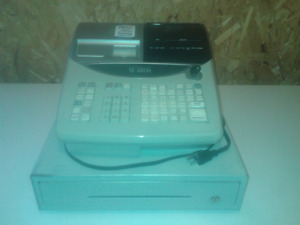 Caisse enregistreuse CASIO TE-2200