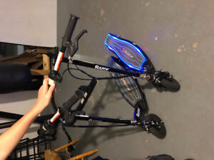 Light up electric  scooters