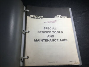 Mercruiser & Mercury Outboard Special Tools Manual 3.6-300 HP