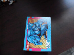 Set of 1992 Impel Marvel Super Hero Trading Cards