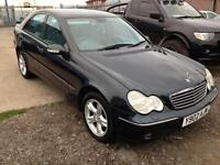 2001/Y Mercedes-Benz C200 Kompressor 2.0 auto Avantgarde FULL MOT