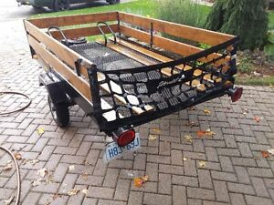 7.5 by 4.5 ft bike trailer / utility trailor London Ontario image 1