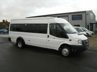 Ford Transit Minibus T430 ELWB 2.2TDCI 135ps 17 Seater bus,2012,Low miles
