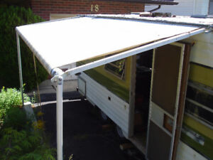 Complete 11' Trailer Awning:  Needs TLC
