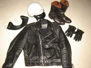 Jacket, Helmet and Boots!