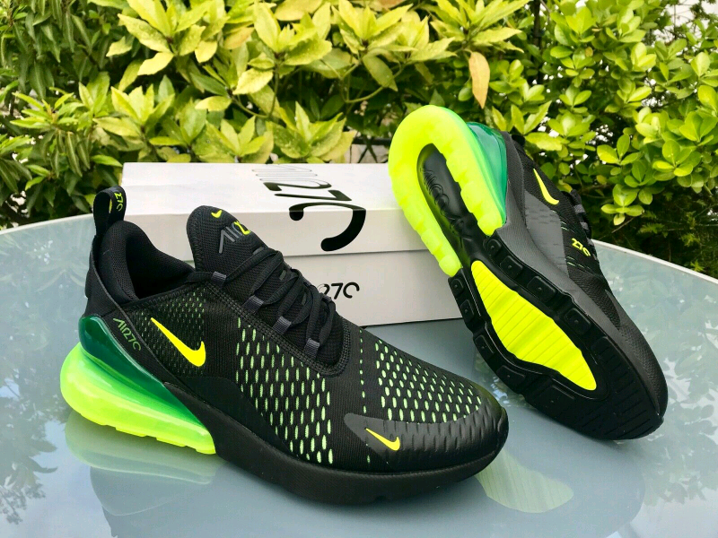 designer fashion ddc34 b9531 Nike Air Max 270 Men's Size 12 UK Black Flourescent | in Chafford Hundred,  Essex | Gumtree