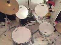 Cranes 7 Piece Drum Kit