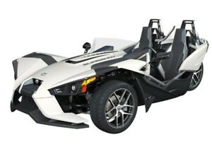 2018 Polaris SLINGSHOT SL MONUMENT WHITE / 82$/sem