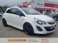 VAUXHALL CORSA LIMITED EDITION, White, Manual, Petrol, 2013