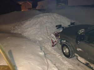 Snow removal, garbage removal and gravel