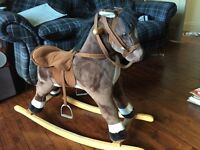 Rocking horse for 3+