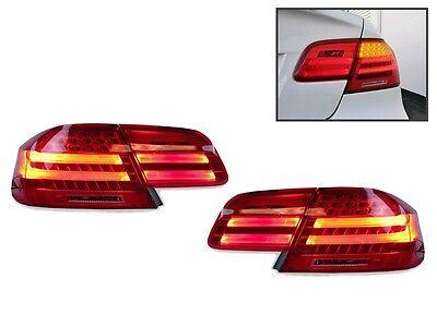 DEPO LCI M3 Amber LED Signal Rear 4PCS Tail Light For 2007-2010 BMW E92 2D Coupe