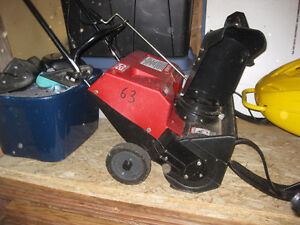 New 20 inch electric snow blower