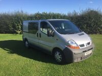 Renault trafic 2005, twin sliders , 5 seater 149k, 9 months mot £1800 no offers