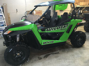 USED 2015 WILDCAT TRAIL 700 SIDE BY SIDE
