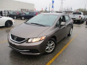 2013 Honda Civic LX / HEATED SEATS / ALLOY RIMS / CRUISE CONTROL