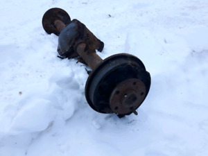 Dakota front and rear differential
