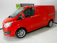2013 Ford Transit Custom Sport 155 2.2TDCi BUY FOR ONLY £199 A MONTH FINANCE