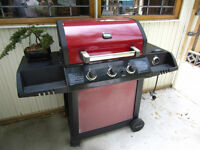 RED UNIFLAME GAS BBQ