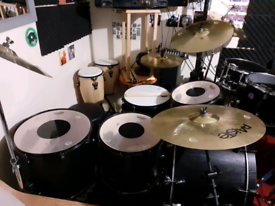 Mapex Mars 5 Piece Crossover Drum Kit